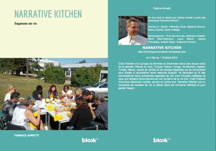 """Couverture du livre """"Narrative Kitchen"""""""