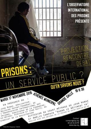Prisons, un service public ?